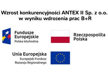 Wzrost konkurencyjności ANTEX II Sp. z o.o. w wyniku wdrożenia prac B+R